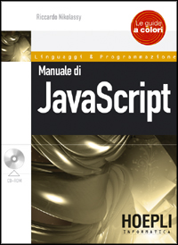 Manuale di JavaScript ISBN 978-88-203-3852-7